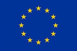 MC-TREND® Europa Fahne Drapeau Europe Union Européenne–UE Papier drapeaux Europa Pin en métal, 60 x 90 cm de la marque MC-TREND® image 0 produit