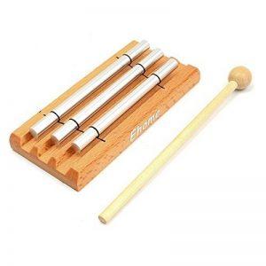 méditation Trio Carillon, Ehome Solo Instrument de percussion avec maillet pour prière, yoga, Eastern énergies, Carillon musical, jouets pour enfants, les enseignants 'rappel de salle de classe Bell de la marque Ehome image 0 produit