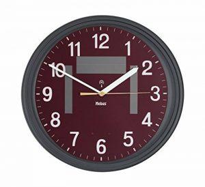 Mebus sans fil-solaire-horloge analogique 52559 marron de la marque Mebus image 0 produit
