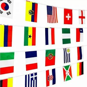 Meflyw 2018 La Fédération World Cup Soccer Ball gonflés bar décoré KTV centres commerciaux sont 32 strong national flag football de la marque Meflyw image 0 produit