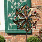 Métal de vent Jeu Moulin à vent Exotic Flower Bali 50cm de diamètre de la marque colourliving image 2 produit