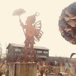 Metallmichl Michl patine Jardin en métal tige Elfes de fées 'Lina' 2pièces, hauteur 30cm de la marque Metallmichl image 2 produit