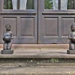 MF-Fairfactory Lot de 2Photophore Figurine de Bouddha XL–Photophore maison + jardin–déco Statue de la marque MF-Fairfactory image 1 produit