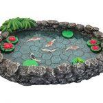 Mini bassin Koï – un mini bassin à carpes Koï pour votre Jardin Féérique – un accessoire pour votre Jardin Enchanté par GlitZGlam de la marque GlitZGlam image 4 produit