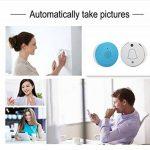 Minismart Sonnette sans fil avec WiFi Camera–Prend automatiquement Photo appuyant Sonnette 1appareil de randonnée 1Intérieur Plug-in récepteur avec Cloud Storage (Bleu) de la marque YEGO image 1 produit