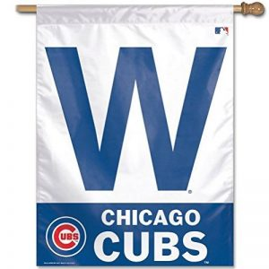MLB Chicago Cubs 27-by-37-inch vertical Flag-w Logo de la marque MLB Chicago Cubs image 0 produit