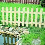 Mélèze de 200x 60 - Exécution droite - Pour clôture de jardin, de plates-bandes de la marque wooden-fencing image 1 produit