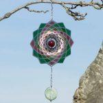Mobile en acier inoxydable - Flower Lotus 200 - Dimensions : 20 x 20cm - incl. Crochet et émerillon à roulement à billes de la marque IMC Networks image 2 produit