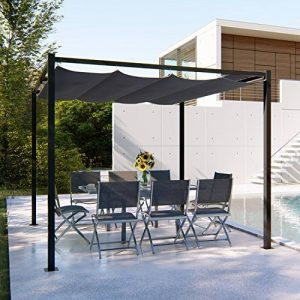 Mon Usine Discount Tonnelle autoportante 3x3m - Toile Polyester Grise de la marque Mon Usine Discount image 0 produit