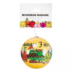 Monsieur Madame / Mr Mme - Boule Sapin Décoration Noel - Modèle Aléatoire de la marque Monsieur Madame image 0 produit