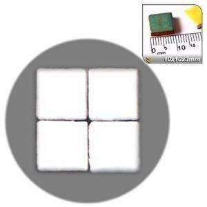 Mosaïque de minis (10x 10x 3mm), 1000Pièces, Blanc perlé, RW02 de la marque Unbekannt image 0 produit