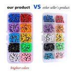 Multicolore épingles tête (Tête 4mm de diamètre, aiguille Longueur, 15mm) 600pièces, assortis, couleurs de la marque Besttoyeye image 1 produit