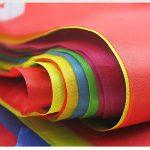Multicolore fanions 100m 150drapeaux en nylon Guirlande Fanion Banderole Triangle Drapeau de décoration pour mariage fête d'anniversaire Jardin de la marque Joykey image 1 produit