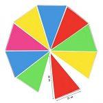 Multicolore fanions 100m 150drapeaux en nylon Guirlande Fanion Banderole Triangle Drapeau de décoration pour mariage fête d'anniversaire Jardin de la marque Joykey image 2 produit