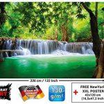 Murale Cascade Feng Shui - Décoration murale vacance paradisiaque dans une Forêt Tailandaise en Asie avec Wellness Spa Relax | murale photo mur deco chez GREAT ART (336 x 238 cm) de la marque GREAT ART image 2 produit
