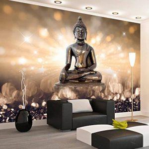 murando – Papier peint intissé 100x70 cm – Papier peint – Tableaux muraux déco XXL – Bouddha h-C-0011-a-b de la marque Papier peint image 0 produit