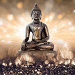 murando – Papier peint intissé 100x70 cm – Papier peint – Tableaux muraux déco XXL – Bouddha h-C-0011-a-b de la marque Papier peint image 2 produit