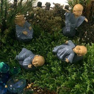 Musykrafties moine Zen Garden miniature 4en Lot, Bleu de la marque musykrafties image 0 produit