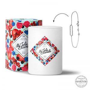 My Jolie candle - Bougie-Bijou Fruits rouges - Bracelet de la marque My Jolie candle image 0 produit