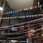 My Planet 32x Monde des drapeaux de qualité premium carte géante fanions énorme Extra Large 12metre Multi Nation Décoration de fête Bannière de la marque My Planet image 1 produit