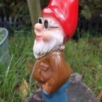 Nain de jardin Cool Kai en PVC résistant aux chocs Nain–Figurine Fabriqué en Allemagne de la marque RAKSO image 2 produit