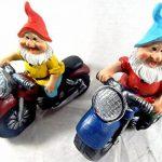 Nain de jardin de moto Lot de 2multicolore Céramique–2Kultpiercing nains à un prix de la marque Unbekannt image 2 produit