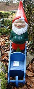 Nain de jardin ~ Gareth ~ Fat Gnome avec brouette de la marque Pixieland image 0 produit