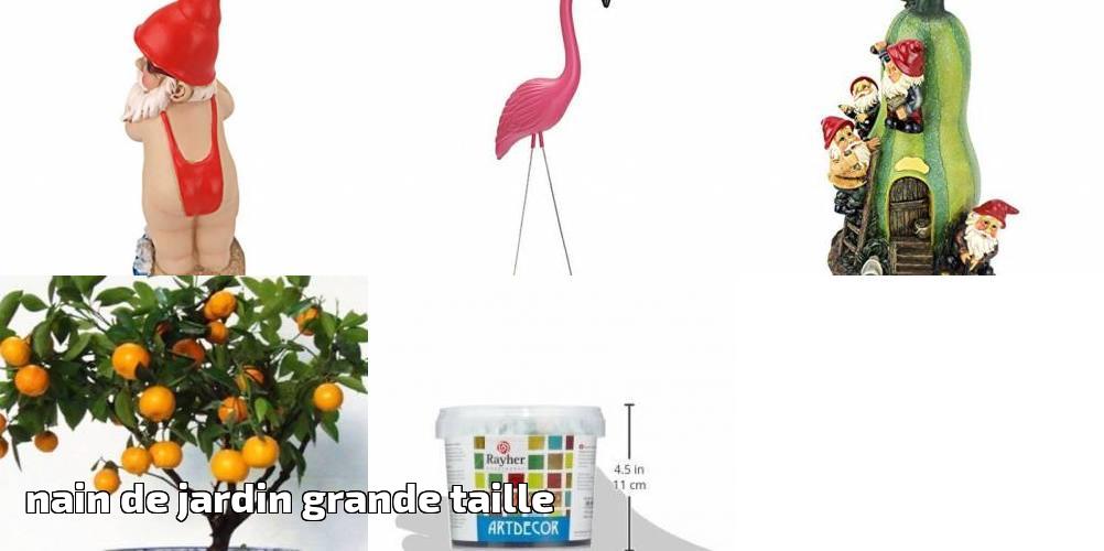 Nain de jardin grande taille faire le bon choix pour 2019 | Déco ...