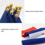 Naisidier Pays drapeaux à manivelle utilisés pour diverses célébrations taille 14cm * 21cm 50 par ensemble de la marque Naisidier image 3 produit
