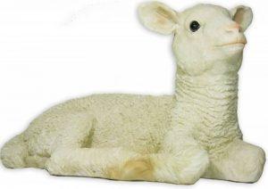 Nancy agneau/mouton-agneau-décoration de jardin xL-figurine sculpture de la marque colourliving image 0 produit
