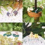NBEADS 27pièces miniature Décorations de jardin Fairy Garden animaux pour maison de poupées Pot de fleurs décoration de la maison, couleurs mélangées de la marque NBEADS image 4 produit