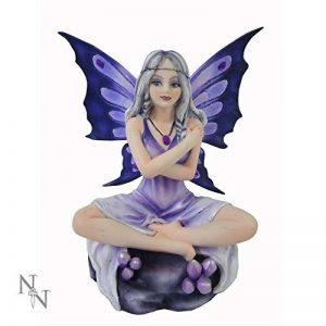 Nemesis Now–Améthyste Lotus Violet Figurine de fée–14cm de la marque Nemesis Now image 0 produit
