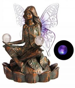 Neuf Creative Glycine Globe solaire de jardin Statue de fée de la marque New Creative Enterprises image 0 produit