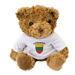 Nouveau–Drapeau de la Lituanie–Teddy Bear–mignon et câlin–Cadeau anniversaire Noël de la marque London Teddy Bears image 1 produit