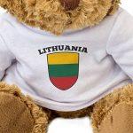Nouveau–Drapeau de la Lituanie–Teddy Bear–mignon et câlin–Cadeau anniversaire Noël de la marque London Teddy Bears image 2 produit