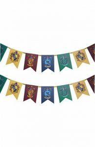 Officiel Harry Potter Poudlard Wall Banner Drapeau Déguisement Accessoire Décoration Bunting de la marque Primark Harry Potter image 0 produit
