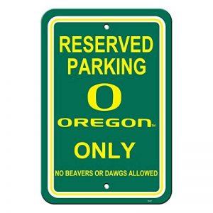 Officiel National Collegiate Athletic Association Fan Shop authentique NCAA de parking Sign. Promouvoir votre territoire avec cette plaque. Idéal pour le bureau ou Homme Grotte. de la marque NCAA image 0 produit