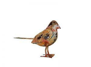Oiseau en fer Animal de jardin déco collection animal–15x 12cm de la marque Keyhomestore image 0 produit