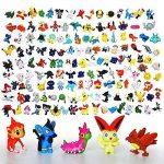 onogal Pokemon figure la collection de 144 caractères différents en plastique 4411 de la marque onogal image 4 produit