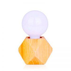 OOFAY TAPS Simple Bois Solide LED Bar Lumière Chevet Cabinet Lumière Créativité Personnalité Bois Art Verre Décoratif Lumières (> 20 Ventes En Gros) de la marque OOFAY TAPS image 0 produit