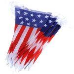 OULII 4 juillet indépendance jour suspendue bannière USA drapeaux décoration pour fête de la marque OULII image 2 produit