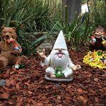 Ours et gnomes miniatures avec miel, une statue de nain de jardin pour votre jardin enchanté de la marque GlitZGlam image 4 produit