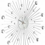 Out of the blue 79/3165 Horloge murale en métal en forme de soleil décorée de strass de la marque Out of the blue image 1 produit