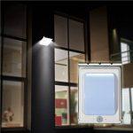 Outdoor Solar Applique murale, imusk 1W 16LED étanche alluminium alliage alliage Corps angetriebene solaire détecteur de mouvement Leuchten sans Dim Mode (transluzente Abat-jour) de la marque iMusk image 3 produit