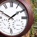 Outside In Designs Greenwich Horloge de jardin avec cadran style gare 34,5 cm de la marque Outside In Designs image 2 produit