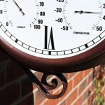 Outside In Designs Greenwich Horloge de jardin avec cadran style gare 34,5 cm de la marque Outside In Designs image 4 produit
