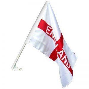 """Pack Of 24 - St George England Flag Hand - Flag Tissu - 18 """"x 11"""" Taille de drapeau - Coupe du monde 2018 - Vente en gros de la marque England image 0 produit"""