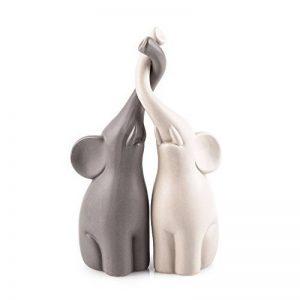Pajoma 54837 amoureux éléphants-lot de 2–hauteur: 25,5 cm de la marque Pajoma image 0 produit