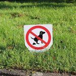 """Panneau chien koten interdite """"20 x 30 cm"""", article 036 de la marque easydruck24de image 2 produit"""