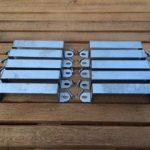 Panneau de Clôture Supports de Sécurité pour poteaux en bois ou en béton Lot de 10 de la marque Postclamp image 3 produit